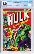 Bronze Age (1970-1979):Superhero, The Incredible Hulk #181 (Marvel, 1974) CGC FN 6.0 Cream to off-white pages....