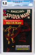 Silver Age (1956-1969):Superhero, The Amazing Spider-Man #28 (Marvel, 1965) CGC VF/NM 9.0 Off-whiteto white pages....