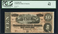 Confederate Notes:1864 Issues, T68 $10 1864 PCGS New 62.. ...