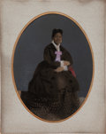 Photography:Tintypes, Tintype of African American Woman (circa 1880s)....