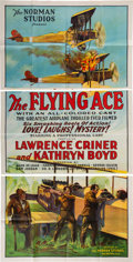 Miscellaneous:Movie Posters, The Flying Ace (Norman, 1926). ... (Total: 2 Items)