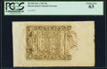 Colonial Notes:Rhode Island, Rhode Island May 1786 20s PCGS Choice New 63.. ...