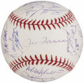 Autographs:Baseballs, 2005 New York Yankees Team Signed Baseball (31 Signatures)....