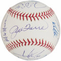 Autographs:Baseballs, 2006 New York Yankees Team Signed Baseball (19 Signatures)....