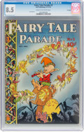 Golden Age (1938-1955):Miscellaneous, Fairy Tale Parade #3 File Copy (Dell, 1942) CGC VF+ 8.5 Cream to off-white pages....