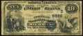 National Bank Notes:Virginia, Richmond, VA - $10 1882 Date Back Fr. 545 The American NB Ch. #(S)5229 Very Good.. ...