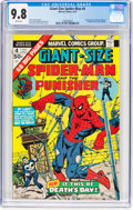 Bronze Age (1970-1979):Superhero, Giant-Size Spider-Man #4 (Marvel, 1975) CGC NM/MT 9.8 Whitepages....