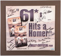 "Baseball Collectibles:Photos, ""61*"" Multi-Signed Movie Poster.. ..."