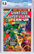 Bronze Age (1970-1979):Superhero, Giant-Size Super-Villain Team-Up #2 (Marvel, 1975) CGC NM/MT 9.8 Off-white to white pages....