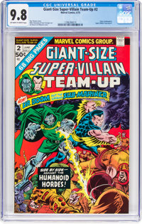 Giant-Size Super-Villain Team-Up #2 (Marvel, 1975) CGC NM/MT 9.8 Off-white to white pages