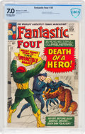 Silver Age (1956-1969):Superhero, Fantastic Four #32 (Marvel, 1964) CBCS FN/VF 7.0 Off-white to white pages....