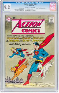 Action Comics #266 (DC, 1960) CGC NM- 9.2 Off-white to white pages