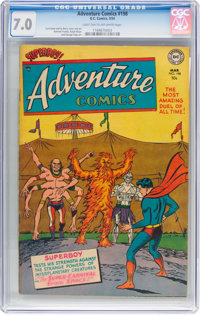 Adventure Comics #198 (DC, 1954) CGC FN/VF 7.0 Light tan to off-white pages