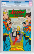 Silver Age (1956-1969):Superhero, Action Comics #366 (DC, 1968) CGC NM 9.4 Off-white to whitepages....