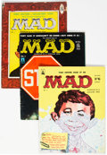 Magazines:Mad, MAD #1-28 UK Edition Complete Range Group (Thorpe & Porter,1959-63) Condition: Average VG.... (Total: 28 )