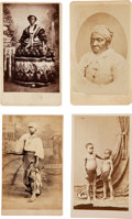 Photography:CDVs, Four Cartes de Visite of Unidentified African Americans. ...