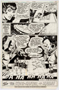 Original Comic Art:Panel Pages, Dick Dillin and Frank McLaughlin Justice League of America#177 Story Page 17 Martian Manhunter and Zatanna Origin...