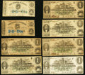 Obsoletes By State:Alabama, Montgomery, AL- State of Alabama 50¢ (2); $1 (6) Jan. 1, 1863 Very Good-Fine or Better.. ... (Total: 8 notes)