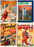 Pulps:Miscellaneous, Assorted Pulps Group of 14 (Various, 1918-50) Condition: Average GD.... (Total: 14 Comic Books)