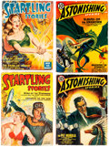 Pulps:Science Fiction, Assorted Science Fiction Pulps Group of 7 (Various, 1936-50) Condition: Average VG.... (Total: 7 Comic Books)