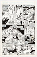 Original Comic Art:Panel Pages, Alan Davis and Paul Neary Excalibur #15 Story Page 12 Original Art (Marvel, 1989)....