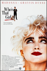 """Who's That Girl & Others Lot (Warner Brothers, 1987). Rolled, Very Fine. One Sheets (3) (27"""" X 40.5"""" &..."""