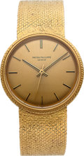 Timepieces:Wristwatch, Patek Philippe, Very Fine 18K Yellow Gold Back Set Calatrava, Automatic, Ref. 3563/2, Circa 1980s. ...