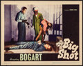 """Movie Posters:Crime, The Big Shot (Warner Brothers, 1942). Very Fine-. Lobby Card (11"""" X 14""""). Crime.. ..."""