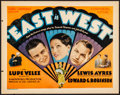 """Movie Posters:Crime, East is West (Universal, 1930). Title Lobby Card (11"""" X 14""""). Crime.. ..."""