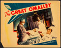 "Movie Posters:Crime, The Great O'Malley (Warner Brothers, 1937). Fine+. Lobby Card (11"" X 14""). Crime.. ..."