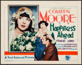 "Movie Posters:Drama, Happiness Ahead (First National, 1928). Very Fine+. Title Lobby Card (11"" X 14""). Drama.. ..."