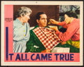 """Movie Posters:Crime, It All Came True (Warner Brothers, 1940). Very Fine-. Lobby Card (11"""" X 14""""). Crime.. ..."""