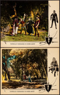 """Movie Posters:Swashbuckler, Robin Hood (United Artists, 1922). Very Fine-. Lobby Cards (2) (11"""" X 14""""). Swashbuckler.. ... (Total: 2 Items)"""