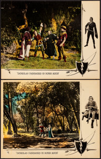 "Robin Hood (United Artists, 1922). Very Fine-. Lobby Cards (2) (11"" X 14""). Swashbuckler. ... (Total: 2 Items)"