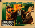 """Movie Posters:Drama, They Drive by Night (Warner Brothers, 1940). Fine. Linen Finish Lobby Card (11"""" X 14"""") Australian Title: The Road to Frisc..."""