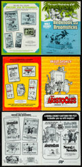 "Movie Posters:Animation, Bedknobs and Broomsticks & Others Lot (Buena Vista, 1971). Very Fine. Uncut Pressbooks (4) (Multiple Pages, 9"" X 12"" & 11"" X... (Total: 4 Items)"