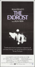 "Movie Posters:Horror, The Exorcist (Warner Brothers, 1974). Folded, Very Fine. International Three Sheet (41"" X 79""). Horror.. ..."