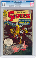 Silver Age (1956-1969):Superhero, Tales of Suspense #42 (Marvel, 1963) CGC VF+ 8.5 Cream to off-white pages....