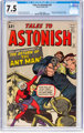 Tales to Astonish #35 (Marvel, 1962) CGC VF- 7.5 Off-white to white pages