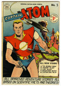 Golden Age (1938-1955):Science Fiction, Captain Atom #3 (Nationwide Publications, 1951) Condition:FN/VF....