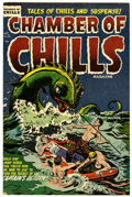 Golden Age (1938-1955):Horror, Chamber of Chills #26 (Harvey, 1954) Condition: VF-....