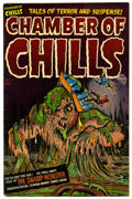 Golden Age (1938-1955):Horror, Chamber of Chills #12 (Harvey, 1952) Condition: FN/VF....