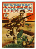 Golden Age (1938-1955):War, Heroic Comics #16 (Eastern Color, 1943) Condition: VF-....