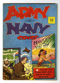 Army and Navy Comics #1 (Street & Smith, 1941) Condition: FN