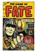 Golden Age (1938-1955):Horror, The Hand of Fate #24 (Ace, 1954) Condition: FN+....