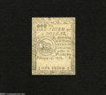 Colonial Notes:Continental Congress Issues, Continental Currency February 17, 1776 $1/3 Choice Uncirculated....