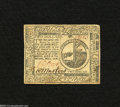 Colonial Notes:Continental Congress Issues, Continental Currency May 9, 1776 $2 Extremely Fine....