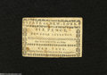Colonial Notes:New York, New York August 13, 1776 $1/16 Extremely Fine....