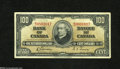 Canadian Currency: , BC-27b $100 1937...