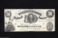 Confederate Notes:1861 Issues, T8 $50 1861....